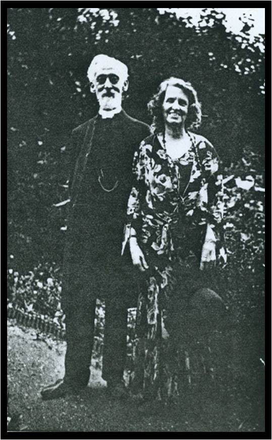 Rev. and Mrs William Alfred Presland at Snodland
