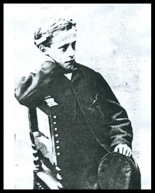 The young William Alfred Presland